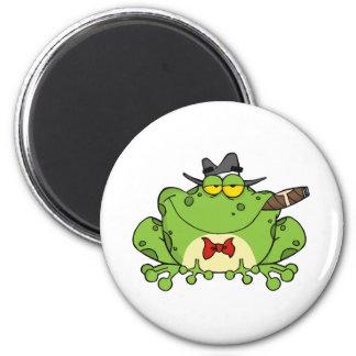 Frog Mobster Magnet