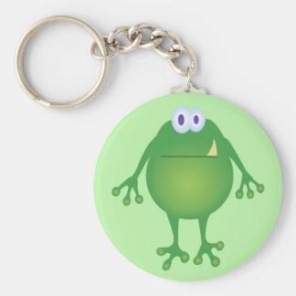 Frog Monster Keeychain Basic Round Button Keychain