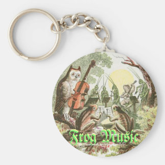 """Frog Music"" Keychain"