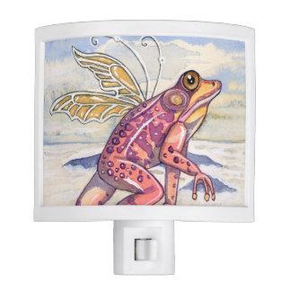 Frog night light cute flying frog nightlight