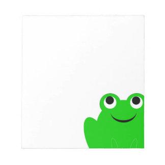 Frog Notepad
