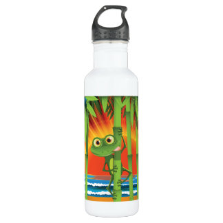 Frog On Bamboo 710 Ml Water Bottle