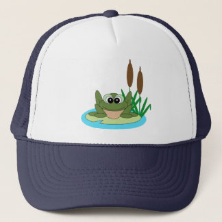 Frog on Lilypad Hat