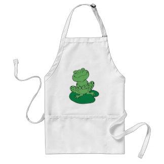 Frog on Lilypad Standard Apron