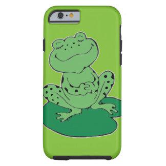 Frog on Lilypad Tough iPhone 6 Case