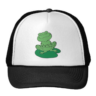 Frog on Lilypad Trucker Hat
