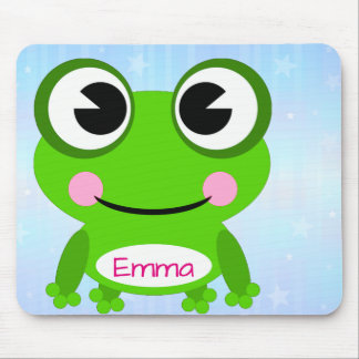Frog on Mousepad