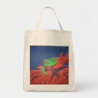 Frog - Organic Grocery Tote Grocery Tote Bag
