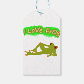 Frog Pack Of Gift Tags
