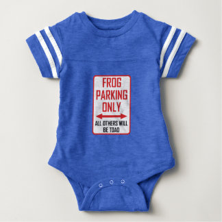 Frog Parking All Others Toad Baby Bodysuit