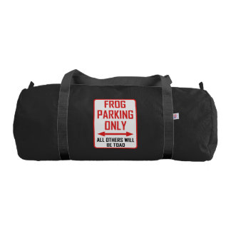 Frog Parking All Others Toad Gym Bag
