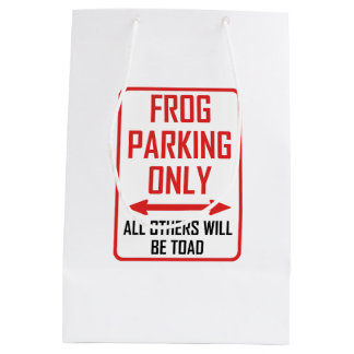 Frog Parking All Others Toad Medium Gift Bag