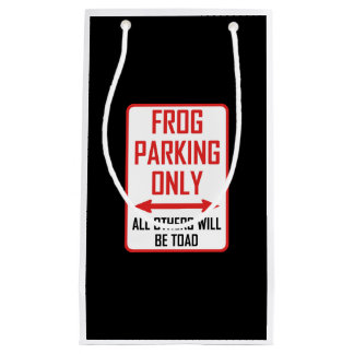 Frog Parking All Others Toad Small Gift Bag