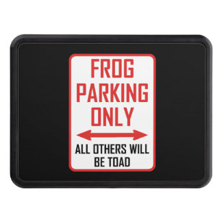 Frog Parking All Others Toad Trailer Hitch Cover