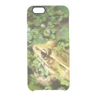 Frog Photo Clear iPhone 6/6S Case