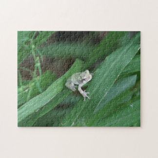 Frog, Photo Puzzle. Jigsaw Puzzle