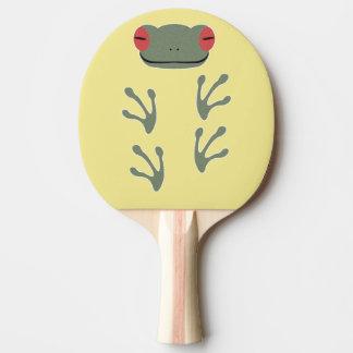 Frog Ping Pong Paddle