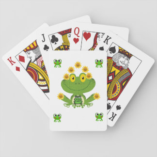 Frog Playing Card Deck