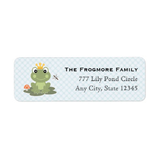 Frog Prince Address Sticker Labels