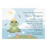 Frog Prince Baby Shower Invitations
