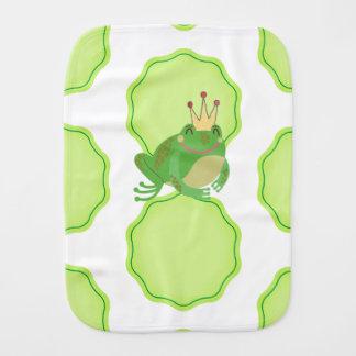 Frog Prince Burp Cloth