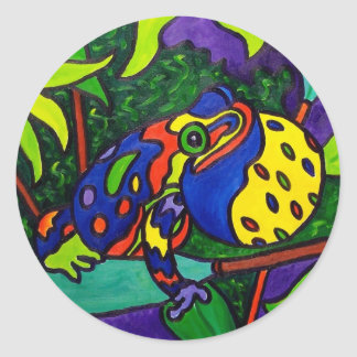 Frog Prince by Piliero Classic Round Sticker