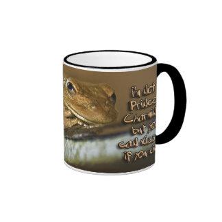 Frog Prince Charming Coffee Mugs