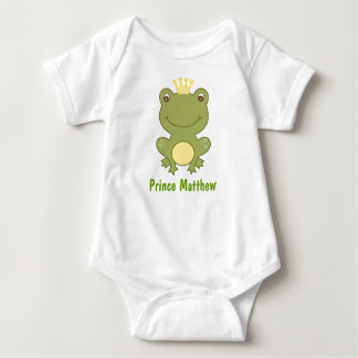 Frog Prince Froggy Birthday Baby Creeper T-Shirt