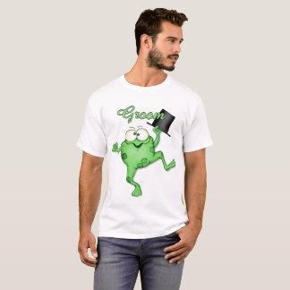 Frog Prince Happy Groom Wedding t-shirt