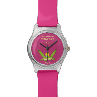 Frog Prince Kiss Funny Cute Cartoon Love Song Chic Watch