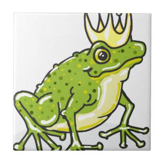 Frog Prince Princess Sketch Ceramic Tiles