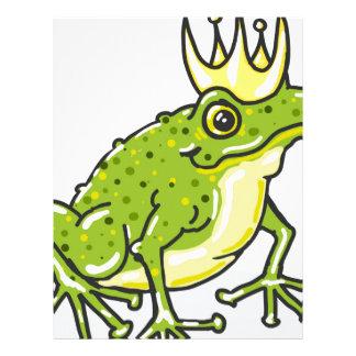 Frog Prince Princess Sketch Letterhead