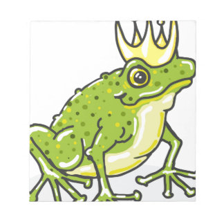 Frog Prince Princess Sketch Notepad