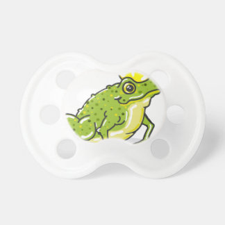 Frog Prince Princess Sketch Pacifier