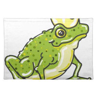 Frog Prince Princess Sketch Placemats