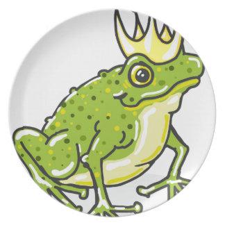 Frog Prince Princess Sketch Plate