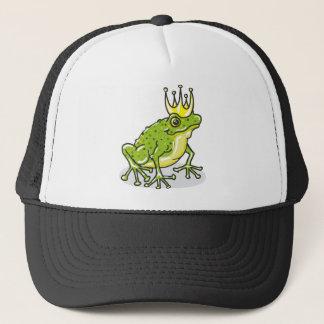 Frog Prince Princess Sketch Trucker Hat