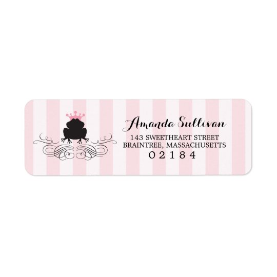 Frog Prince | Return Address Return Address Label