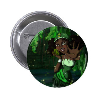 Frog Princess 2 Inch Round Button