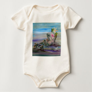 Frog Princess Baby Bodysuit