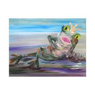 Frog Princess Canvas Print