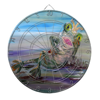 Frog Princess Dartboard