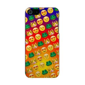 Frog & Princess Emojis Pattern Incipio Feather® Shine iPhone 5 Case