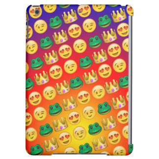 Frog & Princess Emojis Pattern iPad Air Cases