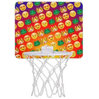 Frog & Princess Emojis Pattern Mini Basketball Hoop