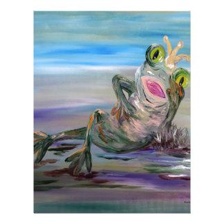 Frog Princess Letterhead