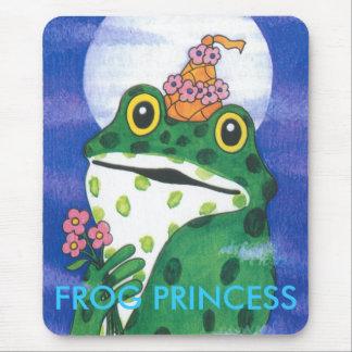 FROG PRINCESS . MOUSE PAD