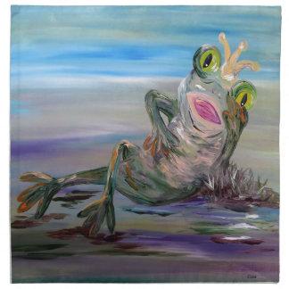 Frog Princess Napkin
