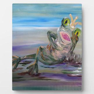 Frog Princess Plaque