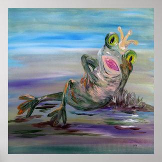 Frog Princess Poster